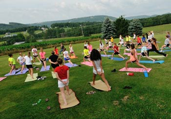 Group Yoga Classes Deep Creek Lake